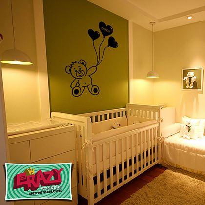 parede verde decoração