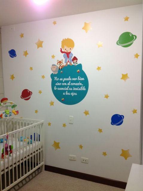 decoração quarto simples menino