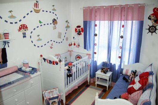 decoração pirata