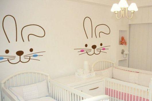 decoração quarto de gêmeos