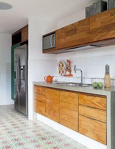 cozinha rústica planejada