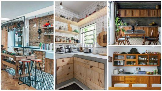 ideias para cozinha rústica