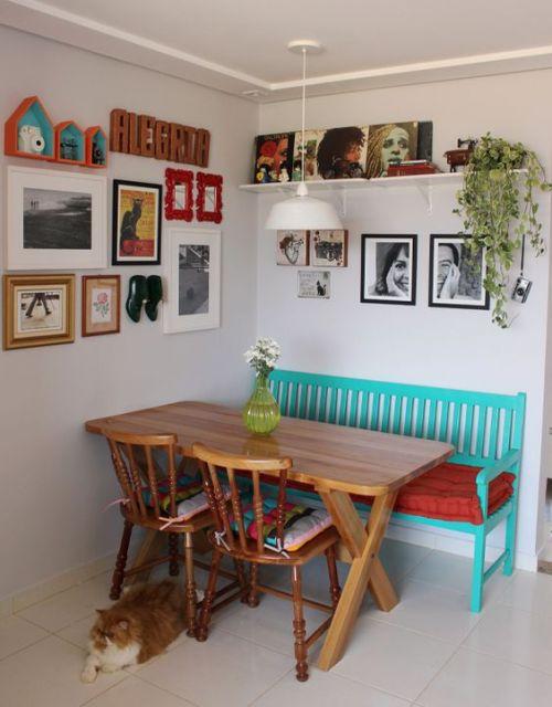 decoração sala de jantar simples