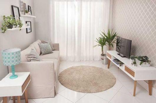 decoração simples sala