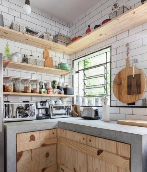 decoração rústica cozinha