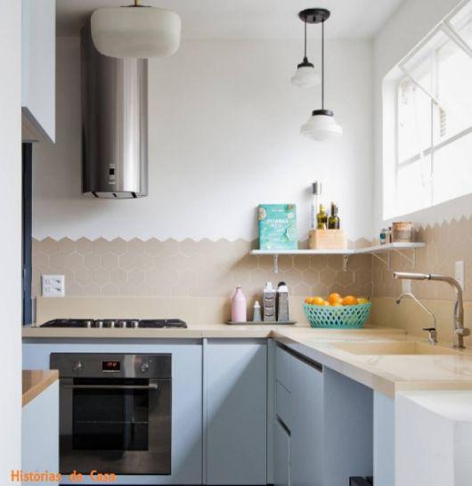 cozinha pequena retrô