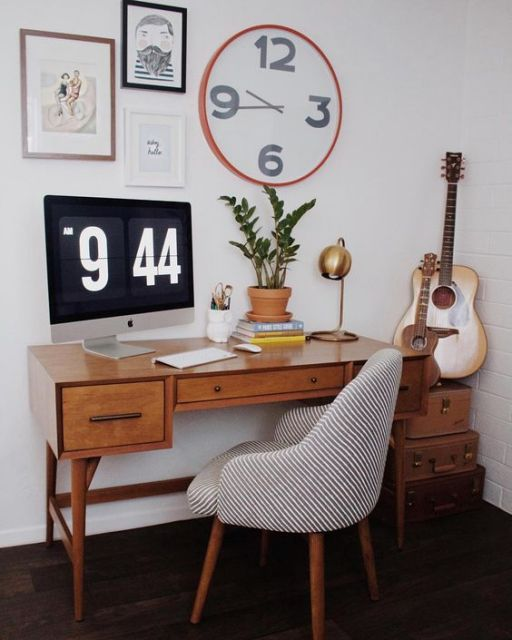 home office vintage