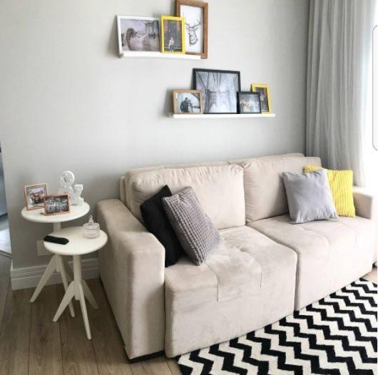 sala pequena e moderna