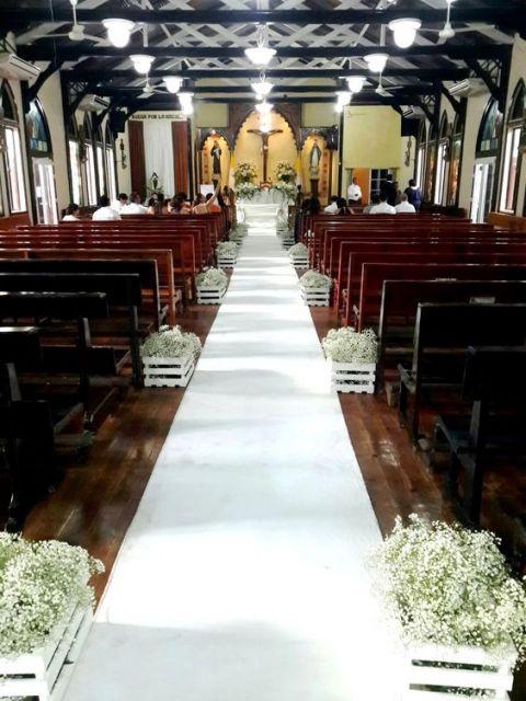 tapete branco decoração