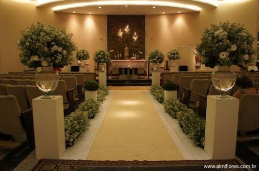 decoração com tapete bege