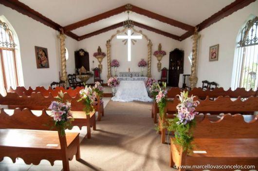 decoração capela