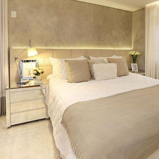 decoração moderna quarto casal