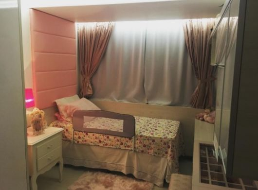 quarto menina decorado