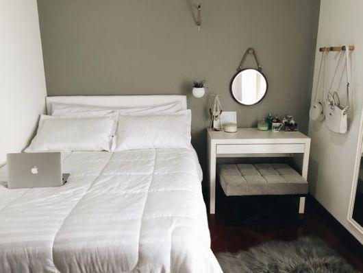 quarto clean feminino