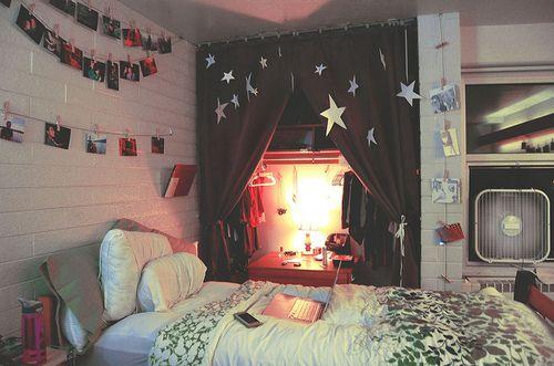 quarto simples hippie