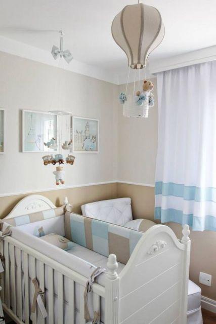 45 lustres para quarto de beb maravilhosos modelos for Decoracion habitacion de bebe varon