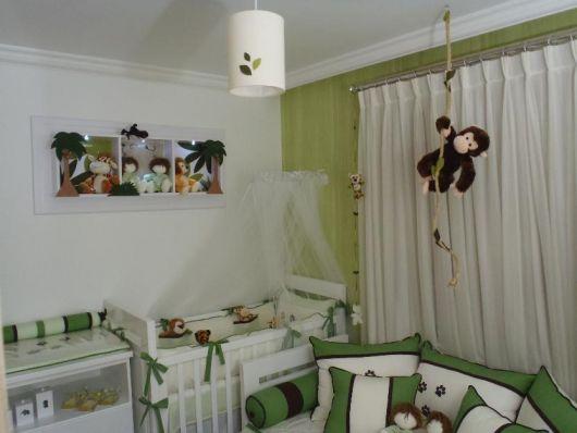 quarto decorado animais