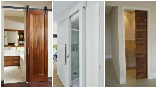modelos de portas para banheiro