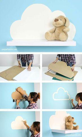 DIY prateleirra de nuvem