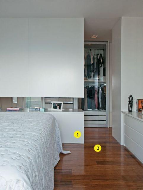 quarto com closet integrado