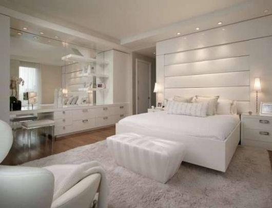 decoração quarto branco