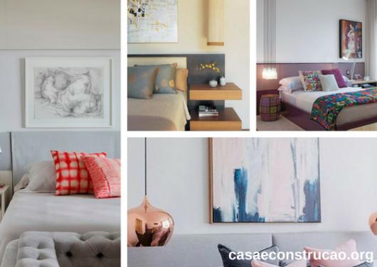 quadros abstratos para quarto de casal