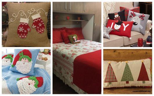 ae7a89807 46 Almofadas de Natal Adoráveis   Como Fazer Passo a Passo!