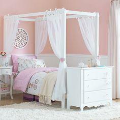 quarto rosa menina