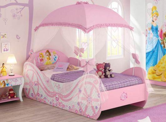cama carruagem Disney