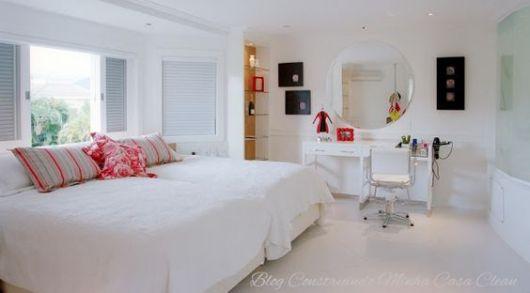 quarto feminino clean