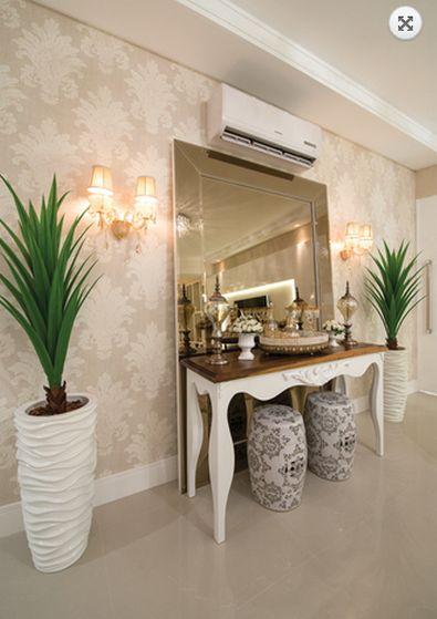 espelho apoiado chão