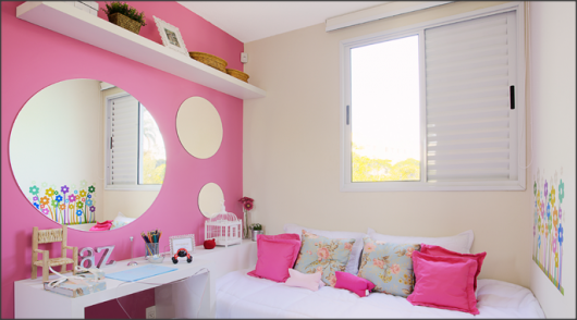 decoração quarto de menina