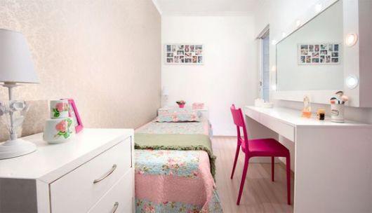 quarto pequeno menina