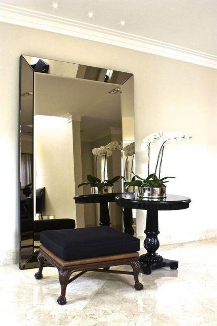 espelho bronze decoração