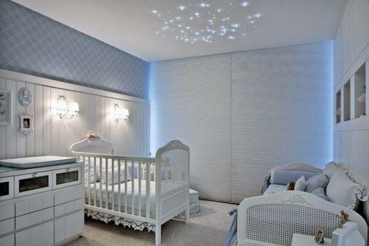 quarto de bebê azukl