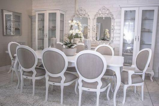 mesa de jantar de 8 lugares