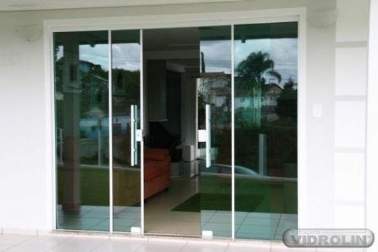 vidro reflecta porta