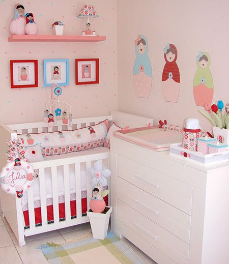 decoração bonecas quarto