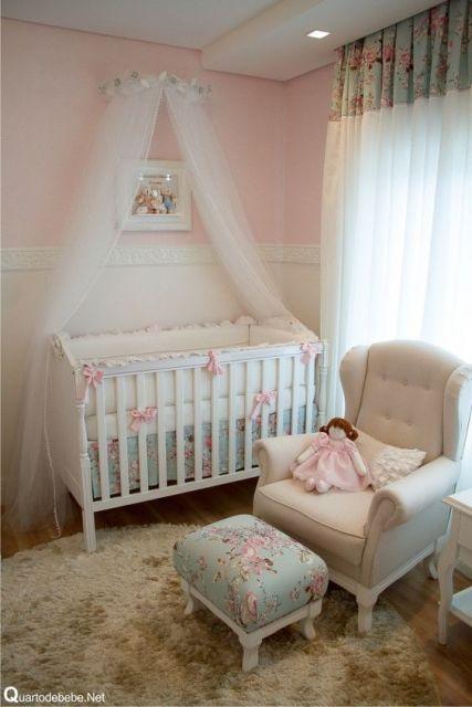 quarto rosa decoração