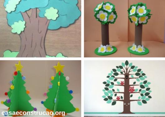 árvores de EVA