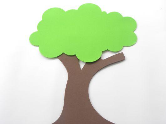 árvore de EVA para painel