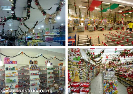 arcos natalinos em lojas