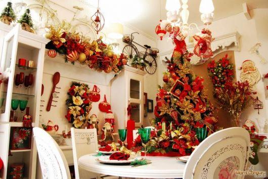 decoração de natal para loja de móveis