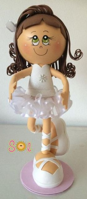 bailarina de roupa branca