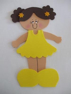 boneca simples