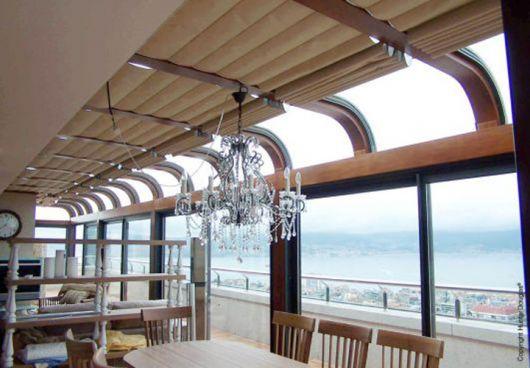 persiana de teto