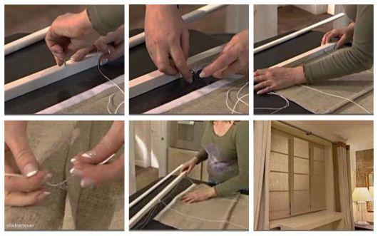 DIY cortina