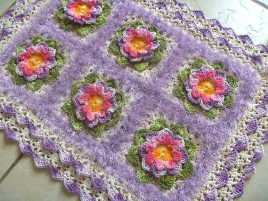 tapete lilás