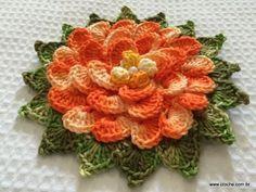 modelo de flor
