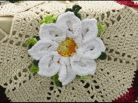tapete com flor